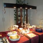 料理テーブル