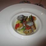魚料理は金目鯛