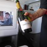 シャンパンはティタンジェで嬉しい