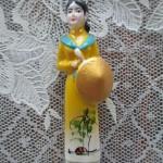 ベトナムではアオザイを購入
