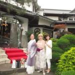 金沢から移築した洋館