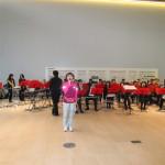 ろびーでは日産吹奏楽団の演奏が!