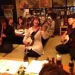 ゲストは三味線奏者&民謡歌手の女性