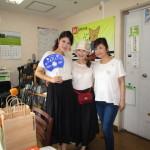 茨木空港親善大使の女子と