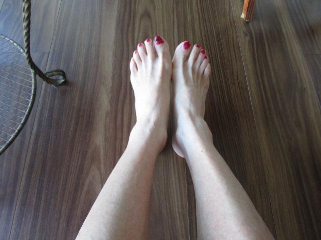 両足ともスッキリ