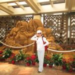 シェラトンホテル(砂の像)