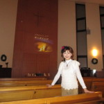 聖歌隊の一員として奉唱