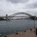 Kわちゃんは橋のてっぺんに上るツアーに参加