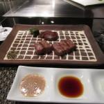 大阪では鉄板焼き