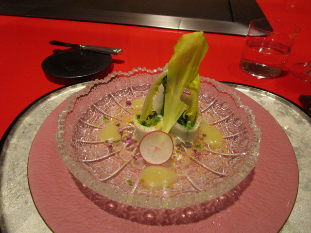 前菜(ヤリイカサラダ仕立て)