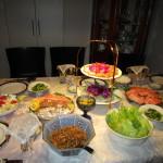 料理の準備が整いました!