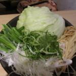 この野菜を3皿食べました
