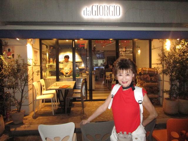 店の雰囲気もナポリ風