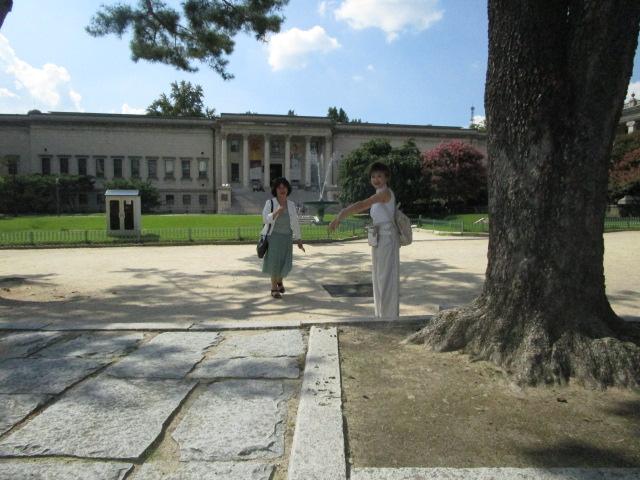 徳寿宮敷地内にある韓国最初のヨーロッパ式庭園