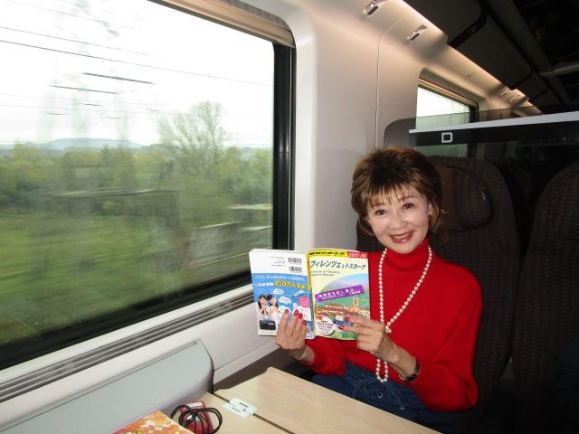 イタリアの新幹線に乗って 行くぜ!フィレンツェ