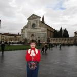 フィレンツェ駅前にあるサンタマリアノベッラ教会