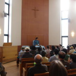 「鎮魂と希望」の会場と同じ大船教会
