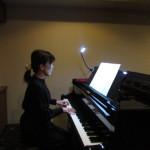 練習用にピアノ伴奏を録音
