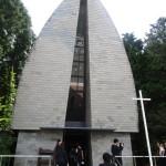 挙式は箱根の森高原教会