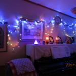 クリスマスバージョンに彩られた室内