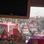 市内の渋滞