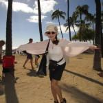 ハワイの風は気持ちいい!