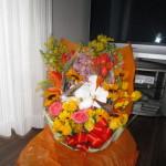 りっぱなお花も頂きました