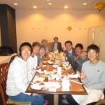 東洋大選手との食事会