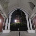 夜は青する大学でゼミ