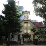 観光スポットの時計台