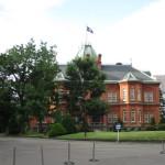 赤煉瓦の北海道庁