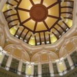 美しい駅舎のドーム部分