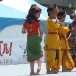 インドの子供たちのダンス