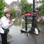 運河の町オランダのユトレヒト