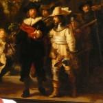 レンブラントの名画「夜警」
