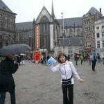 アムステルダムの中心ダム広場