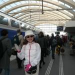 フランスの新幹線TGVに乗っていざ、ランスへ!