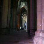 大聖堂の側廊部